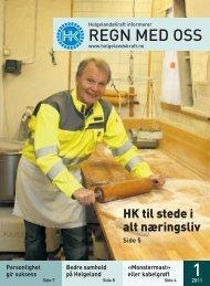 Regn med oss nr 1 - Helgelandskraft
