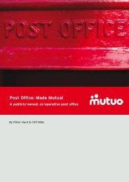'Post Office: Made Mutual' here. - Mutuo