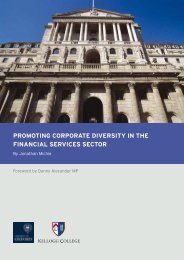 promoting corporate diversity in the financial services sector - Mutuo