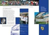 Info-Flyer - Wilhelm-Hausenstein-Gymnasium