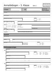 Formular Anmeldung 5. Klasse - Wilhelm-Hausenstein-Gymnasium