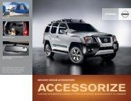 Nissan XTERRA | Accessories Brochure | Nissan USA