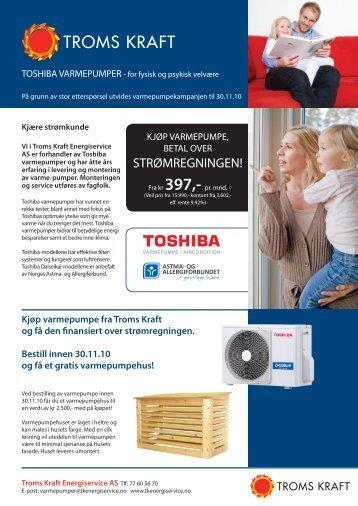 STRØMREGNINGEN! - Troms Kraft
