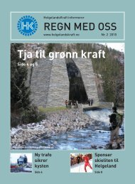 Regn med oss nr 2 - Helgelandskraft