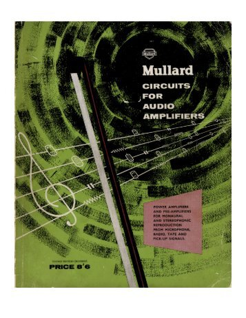 19400164-Mullard-Circuits-for-Audio-Amplifiers - BasAudio.Net