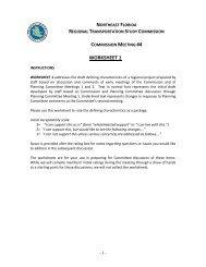 WORKSHEET 1 - Northeast Florida Regional Transportation Study ...