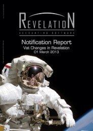 Notification Report - Revelation
