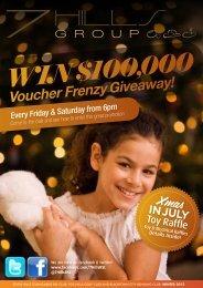 Voucher Frenzy Giveaway! - Seven Hills Toongabbie RSL