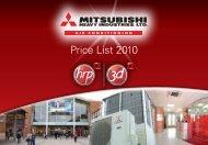 Price List 2010 - 3D Air Sales Ltd.