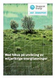 Med fokus på utvikling av miljøriktige energiløsninger - Skagerak ...