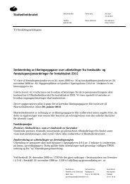 Skattedirektoratet Innberetning av likningsoppgaver ... - Skatteetaten