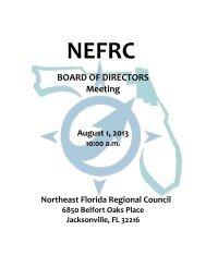 BOARD OF DIRECTORS Meeting - Northeast Florida Regional ...