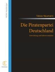 Die Piratenpartei Deutschland – Entwicklung ... - Contumax-Verlag