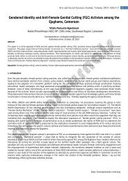 Gendered Identity and Anti-Female Genital Cutting ... - AstonJournals