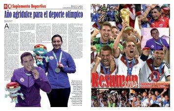 Suplemento Deportivo 05 de Enero de 2015