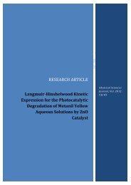Langmuir-Hinshelwood Kinetic Expression for the ... - AstonJournals