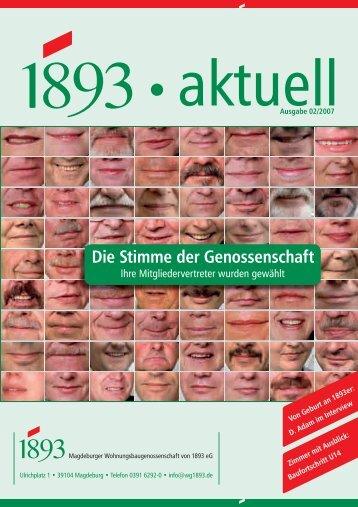 Die Stimme der Genossenschaft - Magdeburger ...