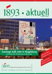 Sonntags halb zehn in Magdeburg - Magdeburger ...