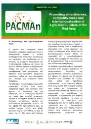 NEWSLETTER – N. 0 / 2011 - PACMAn - project