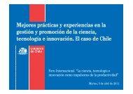 Señor Cristóbal Undurraga, Director Ejecutivo de Innova - Chile