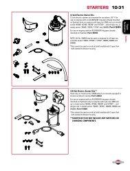 piston ring set - Briggs & Stratton