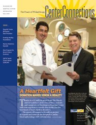 A Heartfelt Gift - Washington Hospital Center