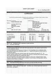 Barbicide Safety Data Sheet PDF - Barbicide Hair Products
