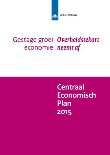 centraal-economisch-plan-2015
