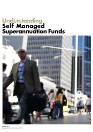 Understanding Self Managed Superannuation Funds - MLC
