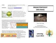 folder met programma - Bisdom Rotterdam