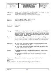 Technische Mitteilung 653-86/1 Ölkühler mit Thermostat