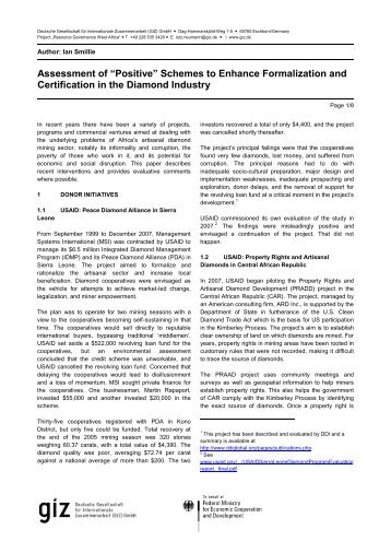 kimberley process certification scheme overview Guidelines on trading with the european union  2368/2002 implementing the kimberley process certification scheme for the international  overview (excel file) of.
