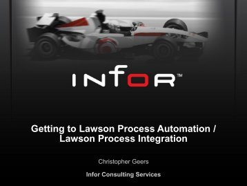 Lawson Process Automation - Digital Concourse