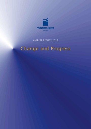 PSEC Annual Report 2010.pdf - Presbyterian Support East Coast