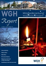 Ausgabe Dezember 2011 - WGH Einheit