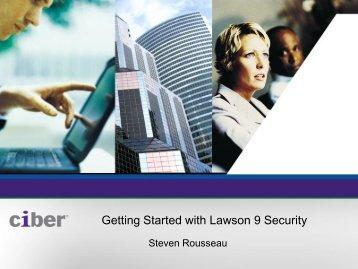 CIBER Lawson Security Presentation - Digital Concourse