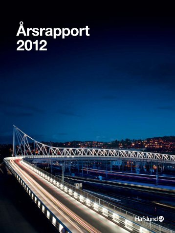 Komplett rapport på norsk - Hafslund årsrapport 2012