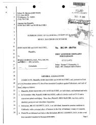 First Amended Complaint for Damages - equitatus
