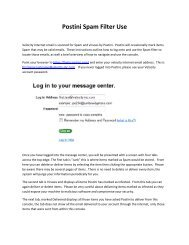 Using Visual Features for Anti-Spam Filtering - UCSB
