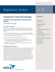 Regulatory Notice 11-22 - finra