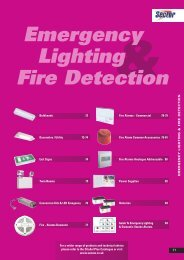 Emergency Lighting Fire Detection - WF Senate