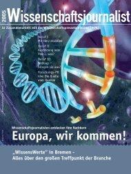 titel/medien - World Federation of Science Journalists