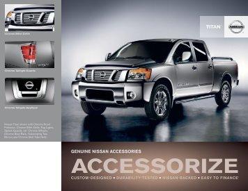Nissan Titan Truck | Accessories Brochure | Nissan USA