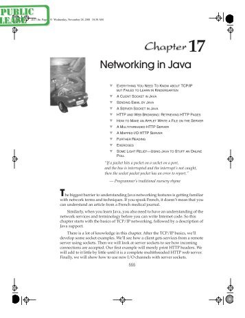 Networking in Java - Computer Press AB