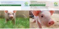 Effektive Mikroorganismen in der Schweinehaltung - Multikraft