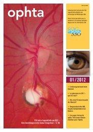 Ausgabe 1/2012 - ophta