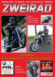 Schon gefahren: Harley-Davidson Rocker C und ... - ZWEIRAD-online