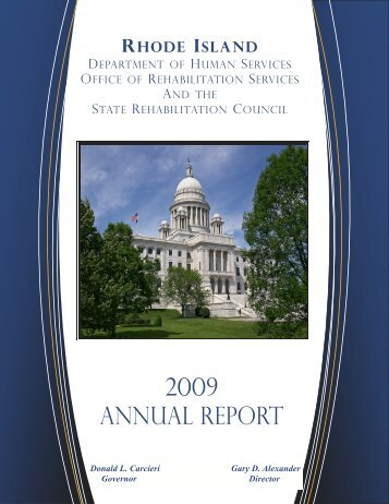 RHODE ISLAND - Office of Rehabilitation Services - RI.gov