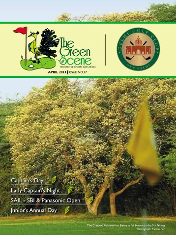 issue no-77 - apr-2013 - The Delhi Golf Club