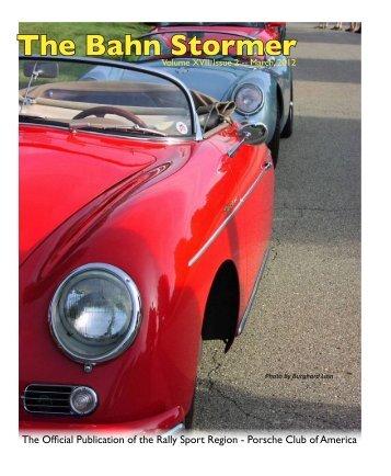 March 2012 Bahn Stormer - Rally Sport Region - Porsche Club of ...